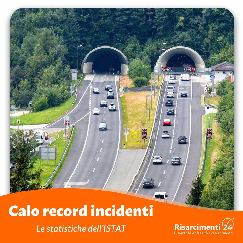 Incidenti 2020 ISTAT