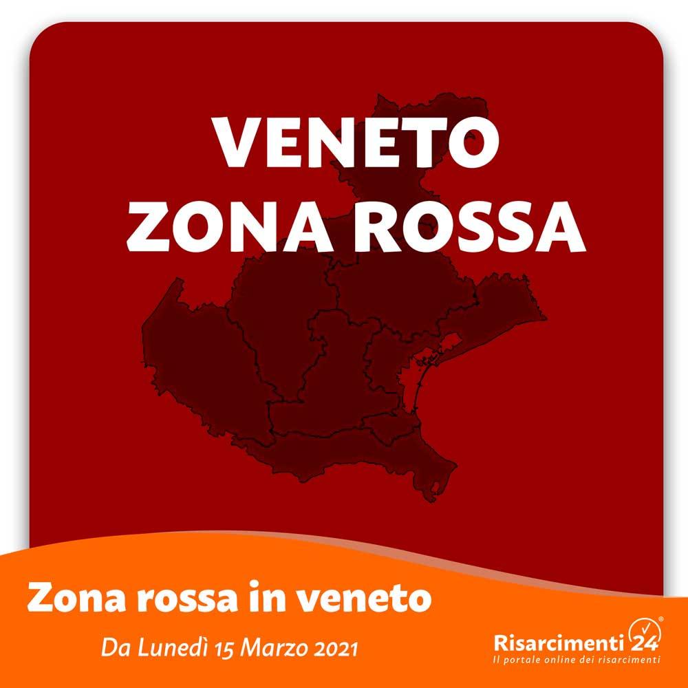 Veneto zona rossa 15 marzo